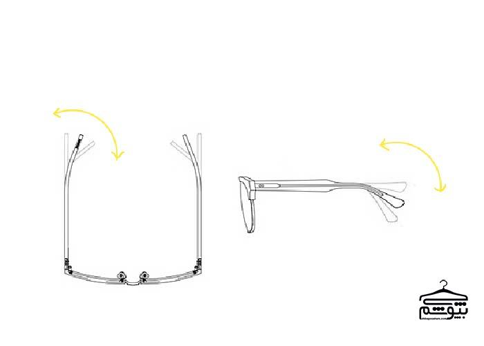 عینک آفتابی را متناسب با صورت خود تنظیم کنید