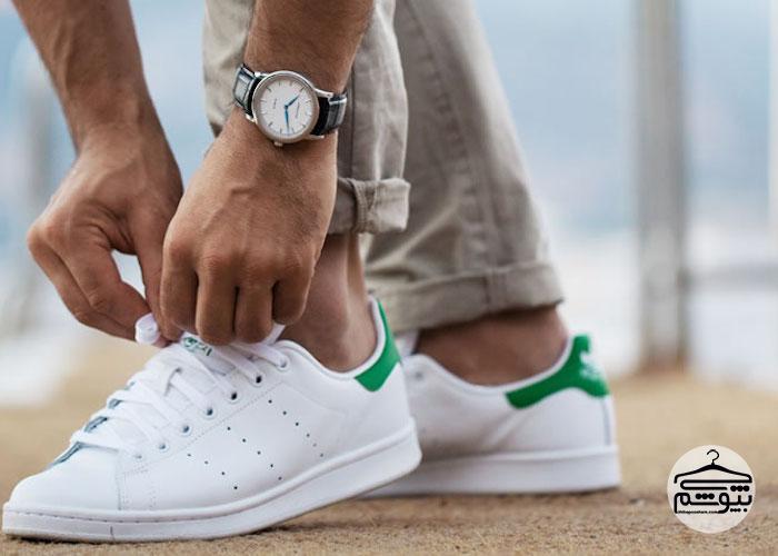 آیا باید بند ساعت و کفش را باهم ست کرد؟