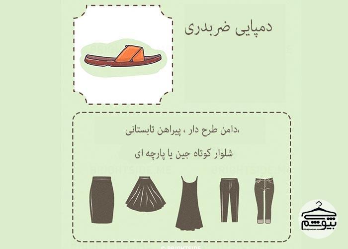 راهنمای تصویری ست کردن کفشهای پاشنه دار و مجلسی