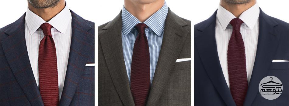 تاریخچه کراوات های بافت