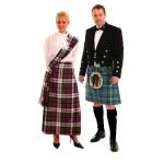 پوشش و لباس سنتی مردم اسکاتلند