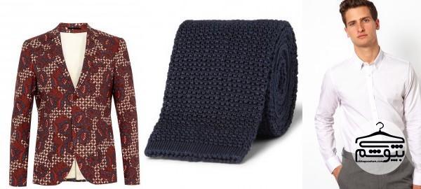 راه و رسم پوشیدن بلیزر طرحدار