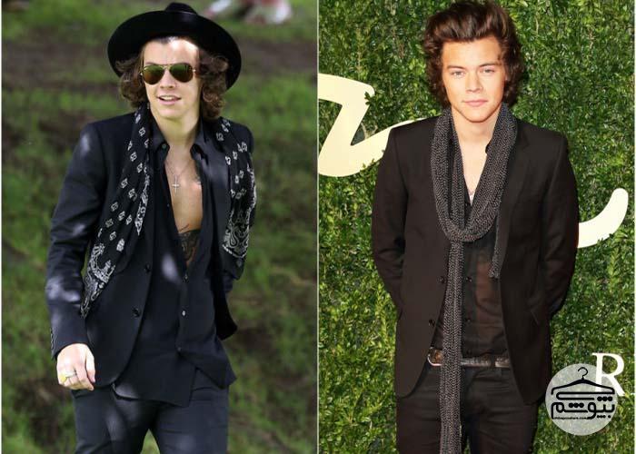 چگونه مثل هری استایلز لباس بپوشید؟