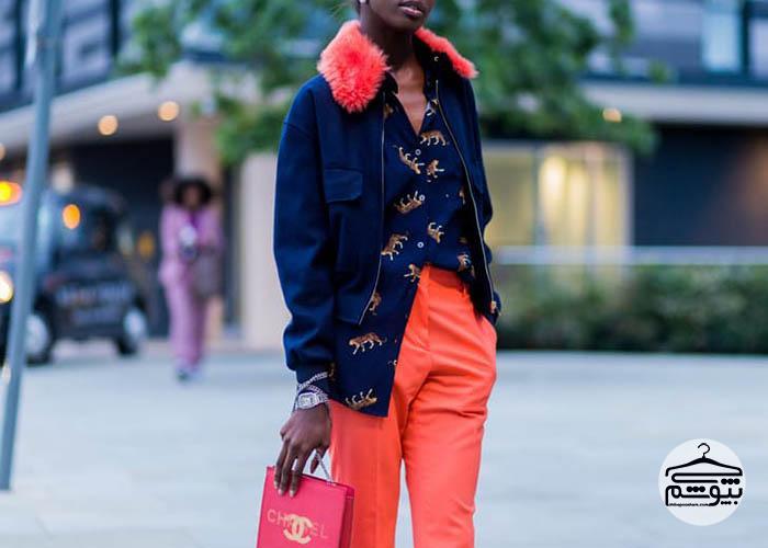 ترکیب رنگ مناسب برای لباسهای زمستانی