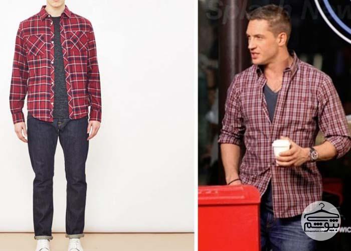 چطور مثل تام هاردی لباس بپوشید
