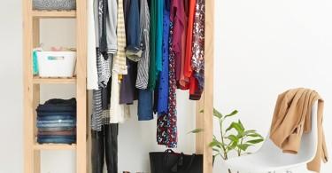 راهنمای جامع مرتب کردن کمد لباس