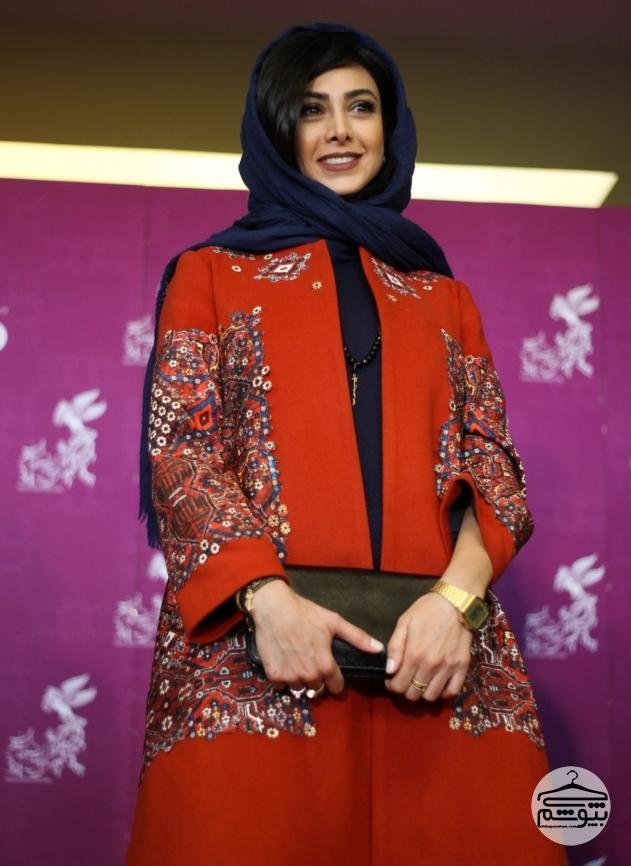 آزاده صمدی در جشنواره فیلم فجر