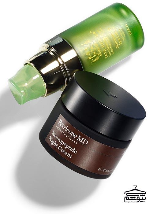 ترتیب استفاده از محصولات آرایشی و مراقبت پوست