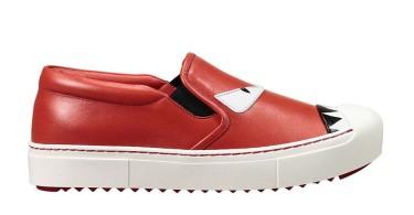 جدیدترین مدلهای کفش کتانی از برند فندی
