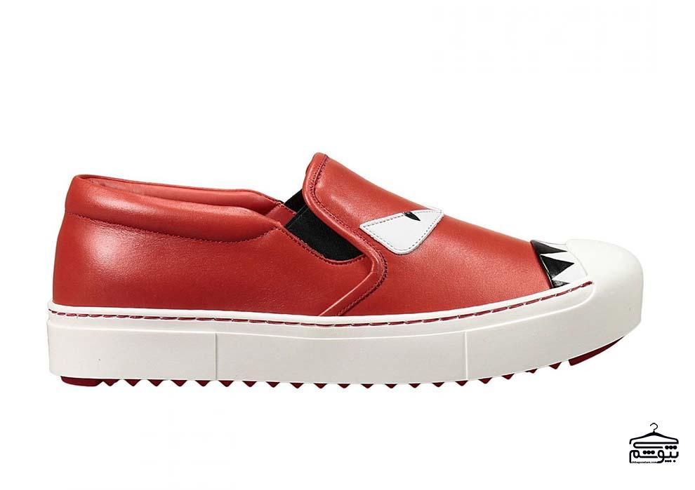 Red Fendi Shoes