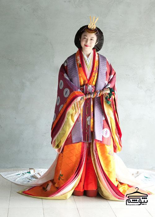 لباس مردم ژاپن در طول تاریخ