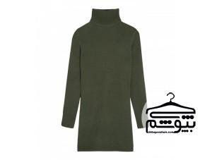 در زمستان چطور ژاکت بلند و مانتو بافتنی بپوشیم؟