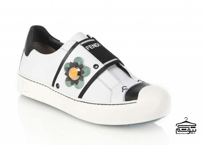 مدلهای جدید کفش کتانی برند فندی