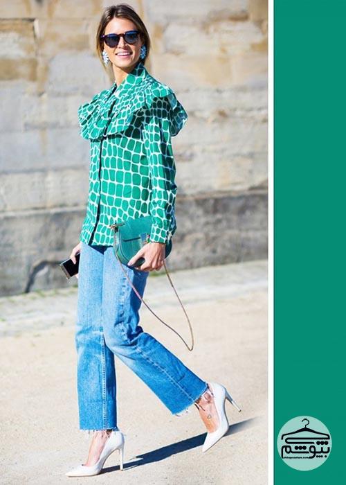 بهترین رنگ لباس برای هر طیف شلوار جین