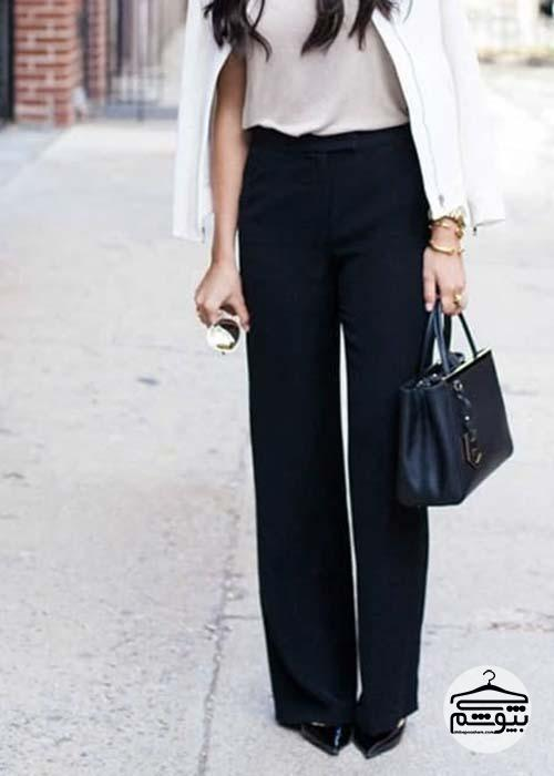چطور شلوار گشاد زنانه بپوشیم؟