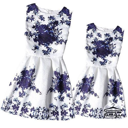 خرید لباس ست مادر و دختر