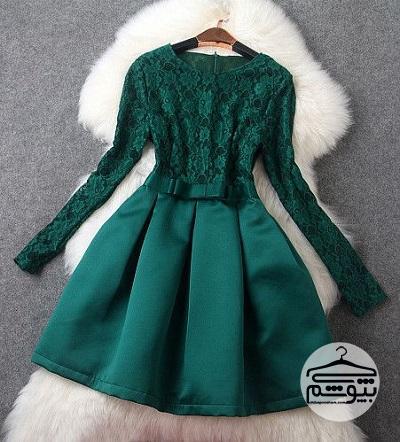 مدل لباس مجلسی عروسکی