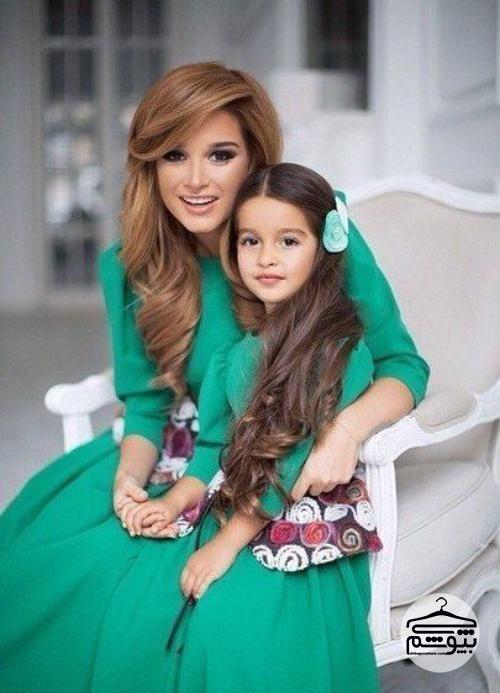 ست دامن بلوز ست لباس مادر و دختر