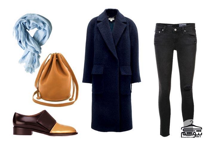 چند ترکیب کلاسیک لباس زمستانی زنانه بدون پوتین