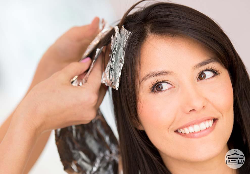 نکاتی برای رنگ کردن موها در منزل