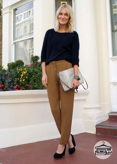 جایگزین شلوار جین زنانه در زمستان چیست؟