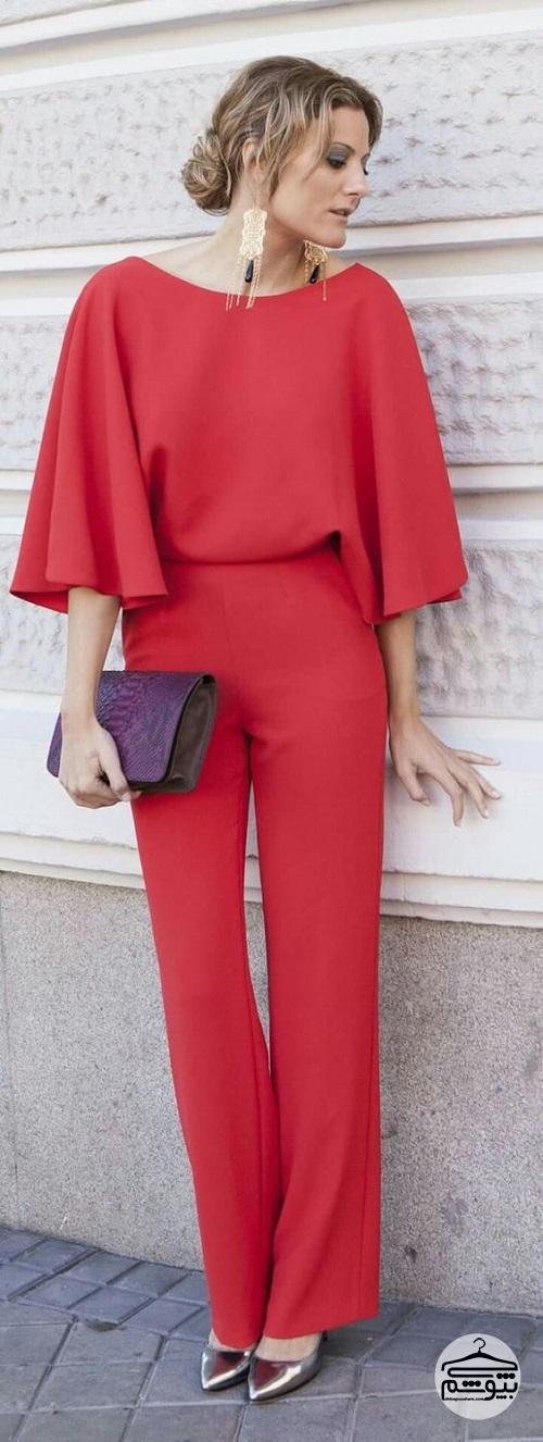 ست مانتو شلوار مدلهای لباس مجلسی سرهمی