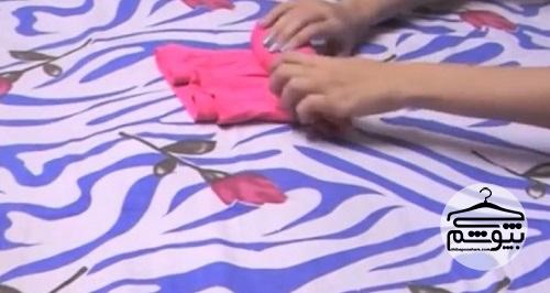 روش رول کردن لباس ها