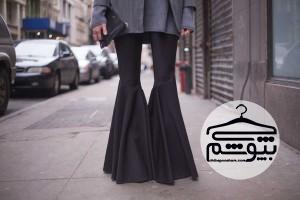 چطور شلوار دمپا گشاد بپوشیم؟