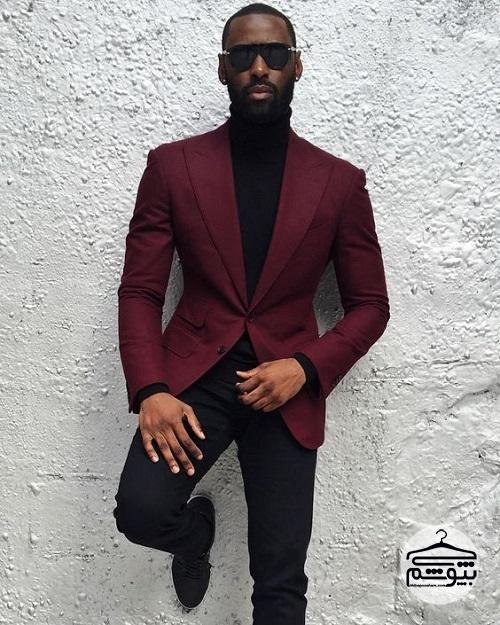 راهنمای ست کردن کت و شلوار رنگی برای آقایان
