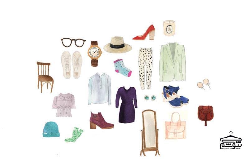 ۶ گام برای مرتب کردن کمد لباس