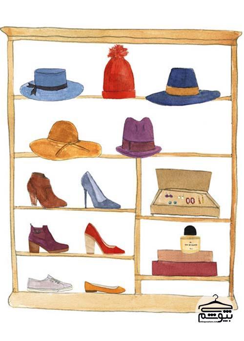 6 گام برای مرتب کردن کمد لباس