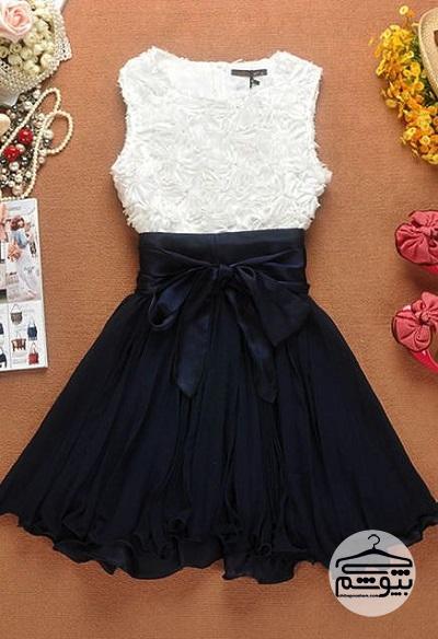 چند مدل لباس مجلسی گیپور