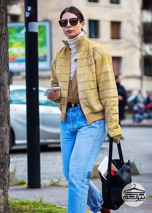 نکاتی برای پوشیدن ژاکت بافتنی زنانه