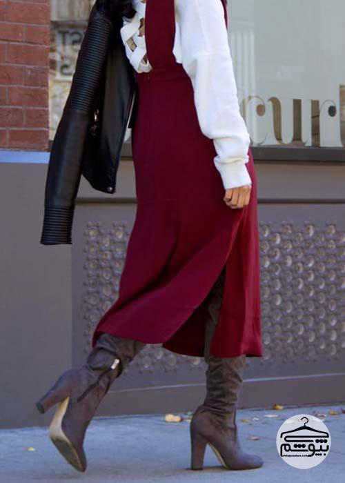 انواع بوت زنانه را با چه لباسهایی بپوشید؟