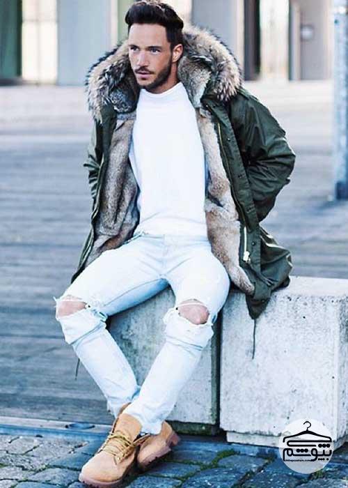 چطور کفش تیمبرلند مردانه بپوشید؟