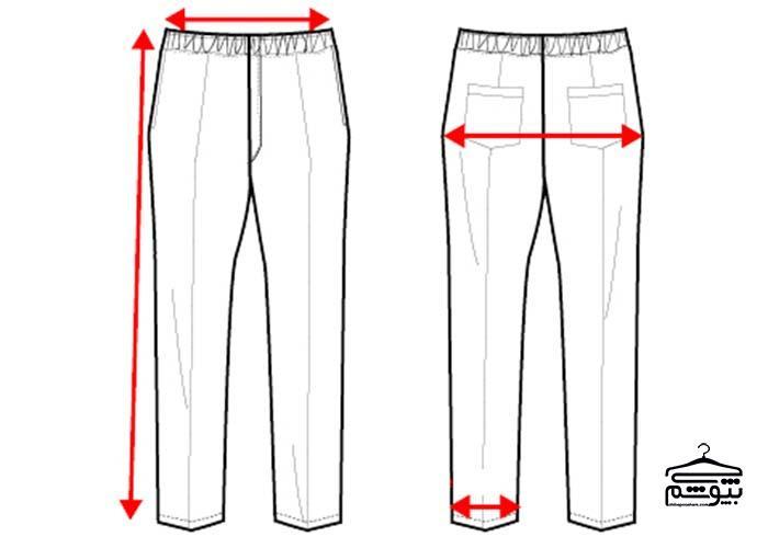 چگونه سایز شلوار جین را پیدا کنیم؟