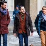 چند ترکیب ساده لباس زمستانی مردانه