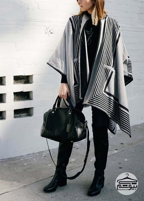 چند ترکیب زیبای لباس زمستانی زنانه