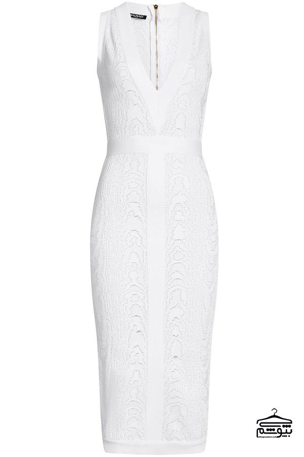 راهنمای انتخاب لباس مجلسی سفید