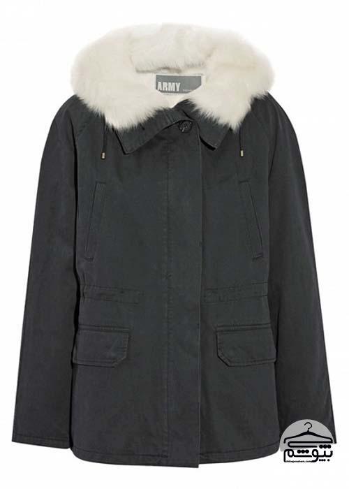 مانتو با دکمه زیاد مدلهای جدید لباسهای زمستانی راحت برای خانمهای شیکپوش