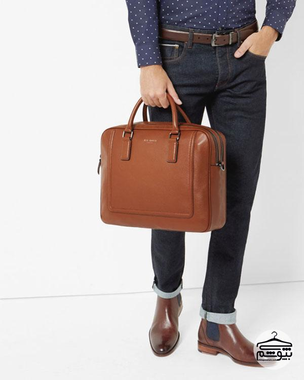 با مدلهای متنوع کیف مردانه آشنا شوید