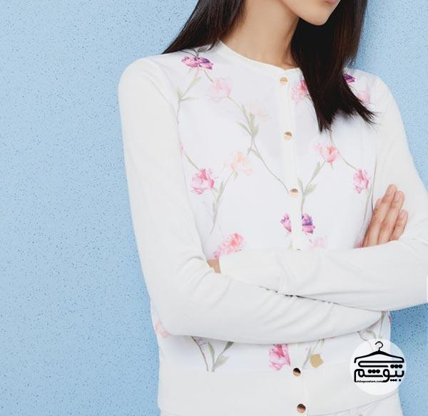 لباس زنانه گلدار : انتخاب لباس مجلسی گلدار