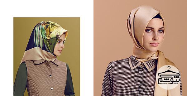 رنگهای شال و روسری مناسب برای فصلهای پاییز و زمستان