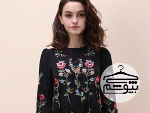 مدلهای گلدوزی شده لباس مجلسی
