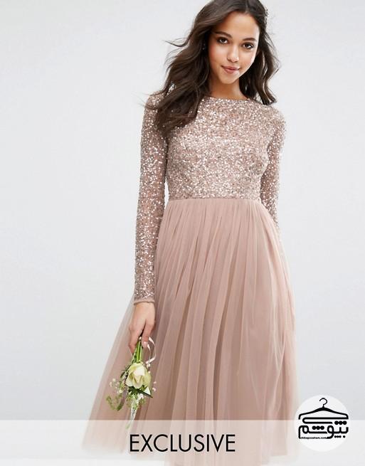 4 مدل لباس مجلسی بلند و شیک