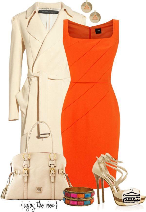 هماهنگی رنگها در انتخاب لباس مجلسی
