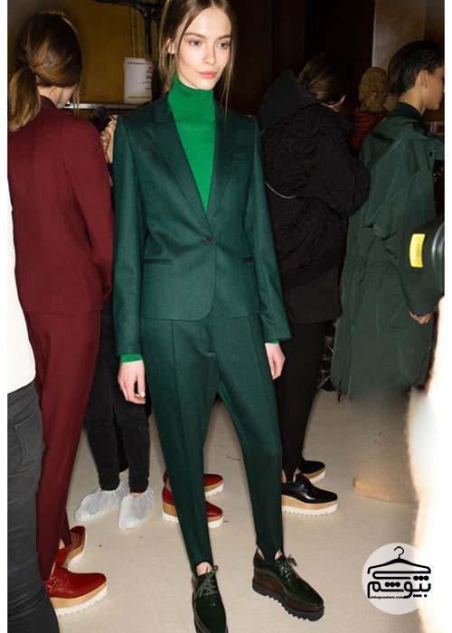 چطور لباس سبز بپوشیم؟