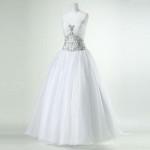 مدلهای مناسب لباس عروس برای خانمهای قدکوتاه
