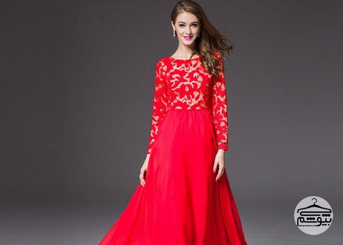 ۴ مدل لباس مجلسی بلند و شیک