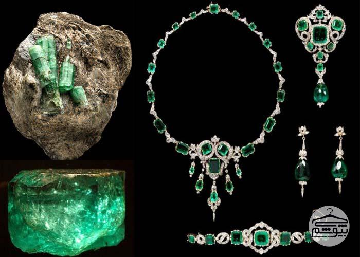 همه چیز درباره زمرد سنگ زیبای سبز رنگ